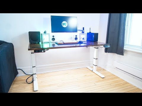Should You Invest In A Standing Desk? - PrimeCables Sit-Stand Dual-Motor Desk Frame Review