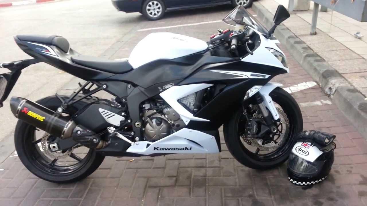 Kawasaki 636 2013 2014 Akrapovic Youtube