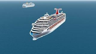 (VSF) Full Cruise: Carnival Valor Arriving to São Nicolau
