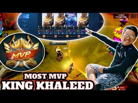 ng bugbug si khaleed || most mvp of all || khaleed gameplay || xhan lee tv