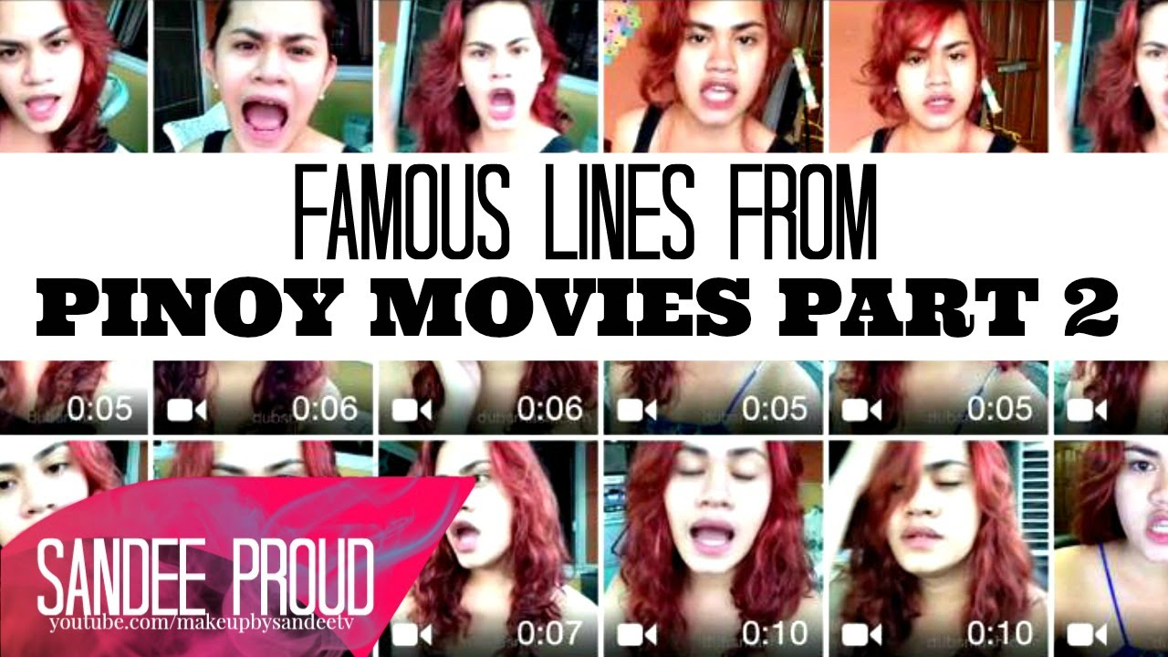 Famous Lines from Pinoy Movies Dubsmash (PART 2) - YouTube