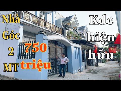 Nhà Đất Bình Chánh - Nhà Phố Góc 2  Mặt Tiền 4 PN Chỉ Với 750 Triệu Đã Có Nhà Đẹp Ở Ngay.