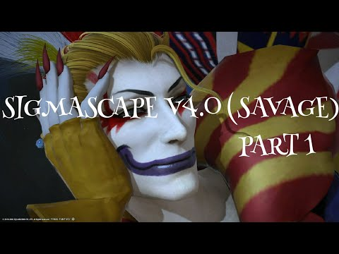 FFXIV Sigmascape 4.0(Savage)Part1 WHM