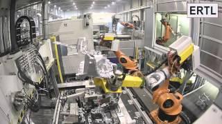 ERTL Automation   Leichtmetall Druckguss Gießplatz