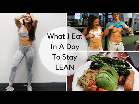 What I Eat In a Day To Stay Lean  Diet When Shredding