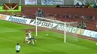 Werder Bremen - 1. FC Köln 5:4 i.E. (1991 DFB-Pokal-Finale)