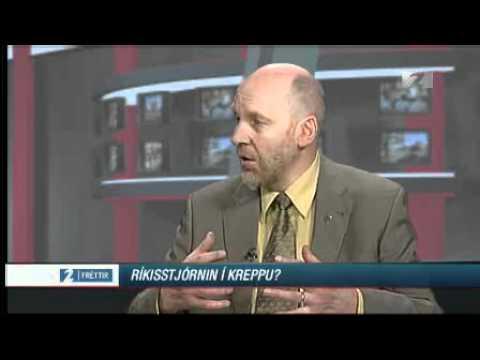Steingrímur J. Sigfússon um ríkisstjórnina - apríl 2008
