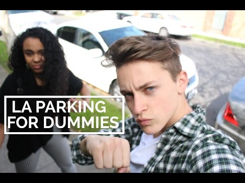 Trying to Parallel Park in Los Angeles