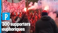 Aulnay-sous-Bois : un match de foot sauvage marqué par des messages hostiles à la police