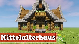 Download Minecraft Survival Haus Bauen Videos Dcyoutube - Minecraft mittelalter haus bauen german