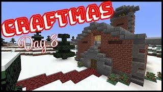 CRAFTMAS DAY 8! - Building A Village Church!