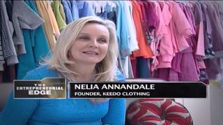 Nelia Annandale -- Founder Keedo Clothing