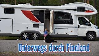 Mit dem Wohnmobil durch Finnland: Skandinavien Rundreise 2016