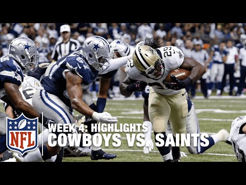 Cowboys vs. Saints | Week 4 Highlights | NFL