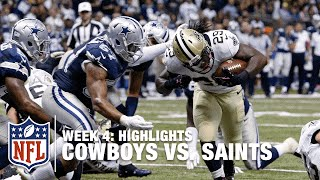Cowboys vs. Saints | Week 4 Highlights | NFL