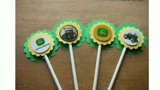 John Deere Cake Decorations