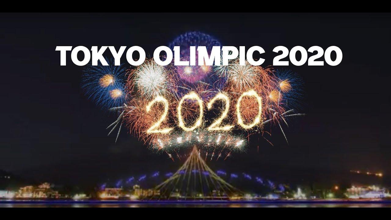 Olimpiade TOKYO 2020 Fireworks - YouTube