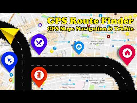 GPS Route Finder - GPS, Maps, Navigation