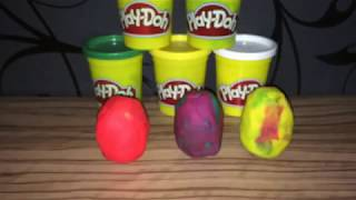 Play Doh Color Surprise Eggs Toys Collection ep 4