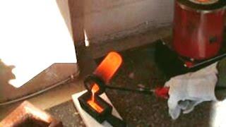 COPPER CASTING Home Made Copper Bar Ingots