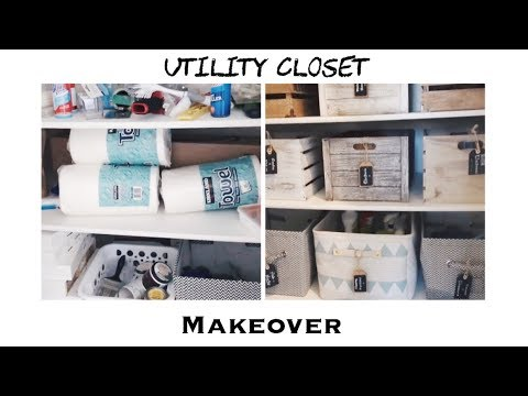 UTILITY ROOM/CLOSET MAKEOVER | Organize With Me! 💛 • Bahasa Indonesia
