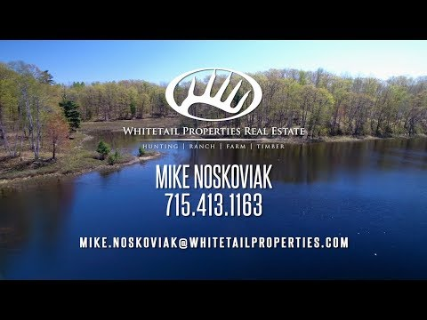 Northern Wisconsin Private Lake For Sale - Bayfield WI 49.2 Acres