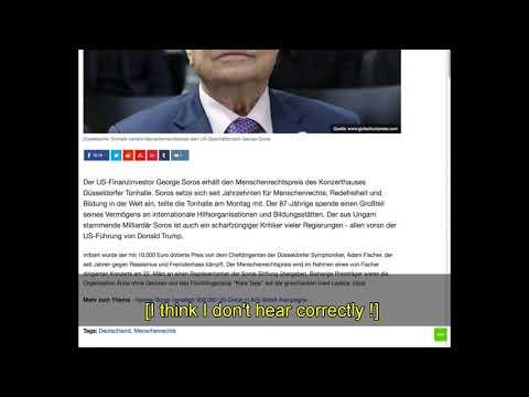 Germany gives Human Rights prize to George Soros RFU