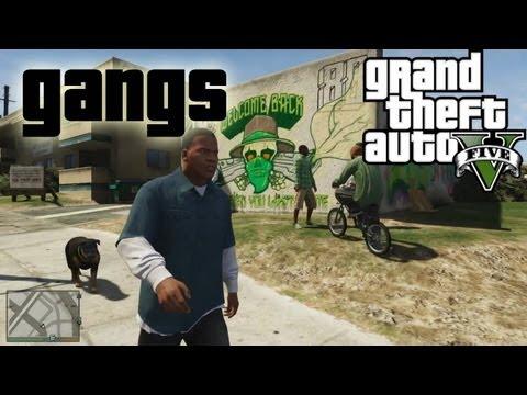 ★ GTA 5 - Gangs in GTA V! | GTA5 Talk...