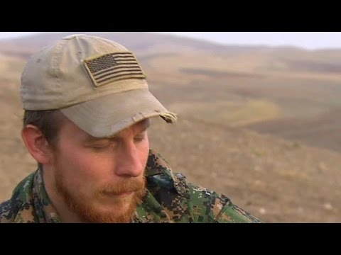 Chris Baker - Some People Are  Ready To Confront Evil. American Joins Up With The Kurds