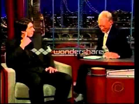 Brandon Routh on David Letterman