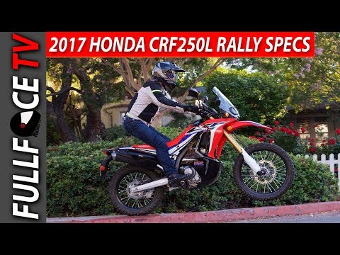 Honda CRFL Rally Review and Top Speed