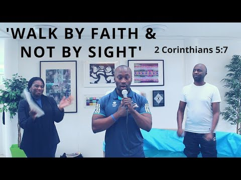 Carl Konadu | Walk By Faith And Not By Sight