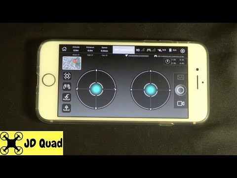 X-Hubsan IOS And Android Quadcopter Drone App Video