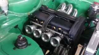 Ford Escort Mk2 with 2lt ITB Zetec twin cam engine.