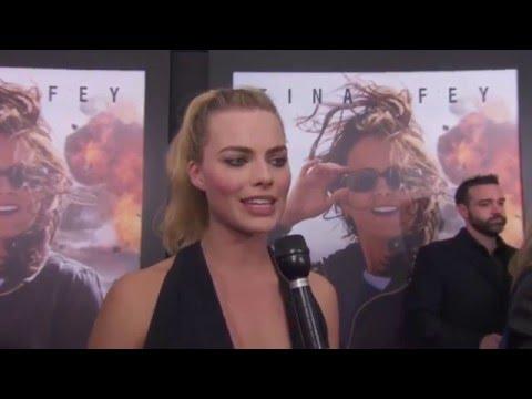 Whiskey Tango Foxtrot World Premiere Interview - Margot Robbie