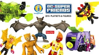 Imaginext® DC Super Friends™ 2015 NEW Playsets & Mini Action Figures Official Images