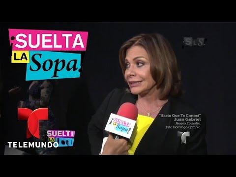 Suelta La Sopa | María Sorté aclaró si ella mandó a Juan Gabriel a la cárcel  | Entretenimiento