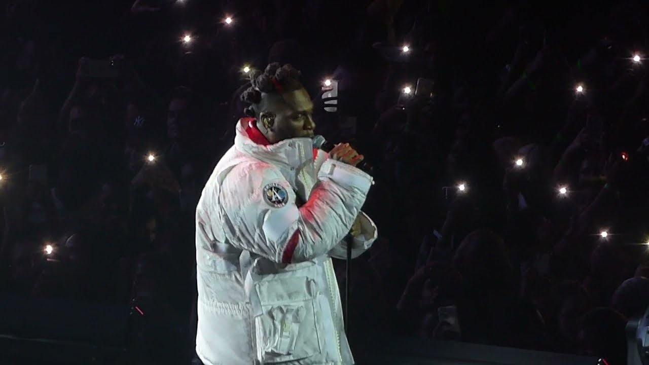 Burna Boy - Live at London O2. (With setlist) August 27 2021.
