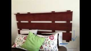 How To Make A Rustic Headboard