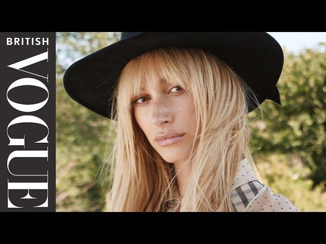 Hailey Bieber Returns Home | British Vogue