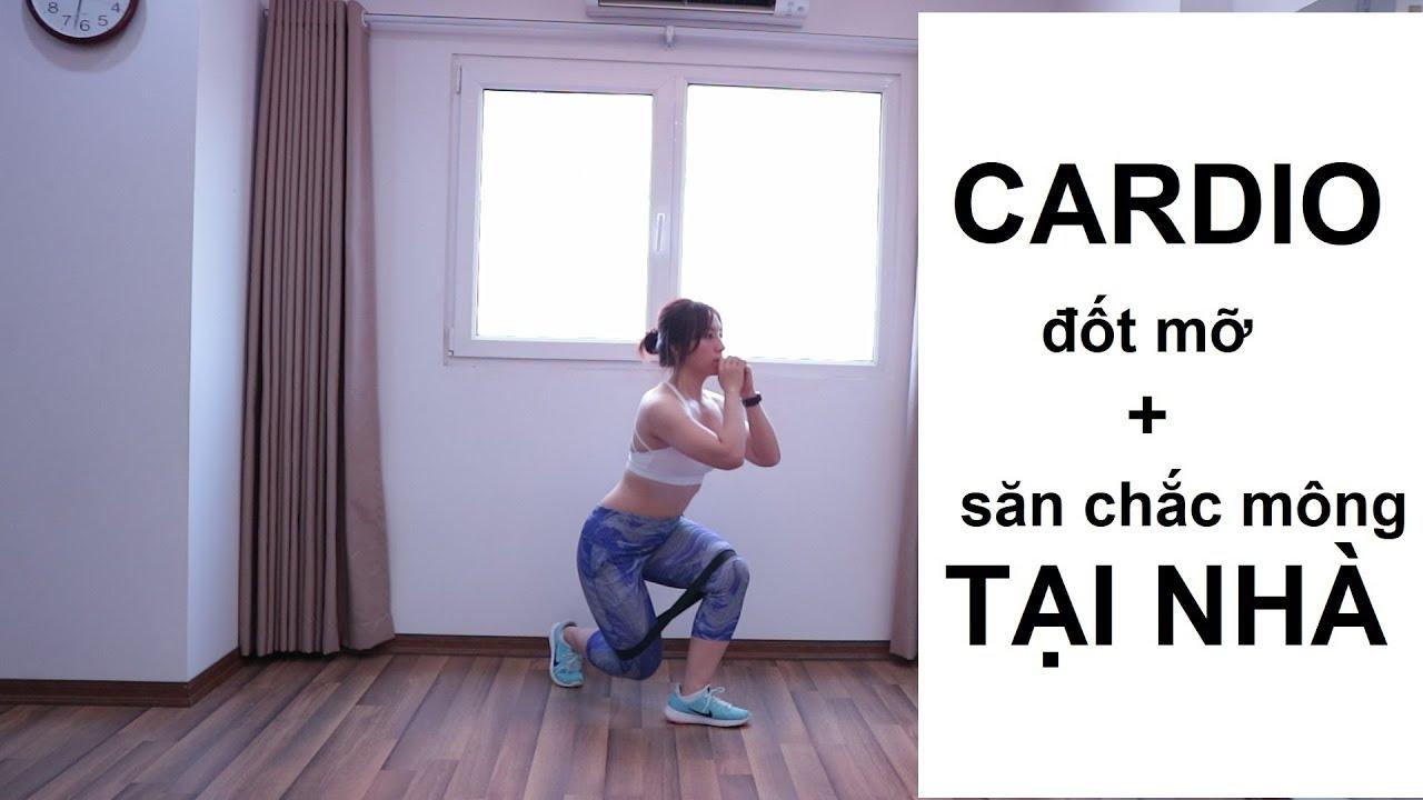 [CARDIO] – Bài tập đốt mỡ săn chắc mông tại nhà