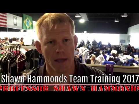 Team Shawn Hammonds BJJ Training 2017 (W/Q&A and 3 Techniques)