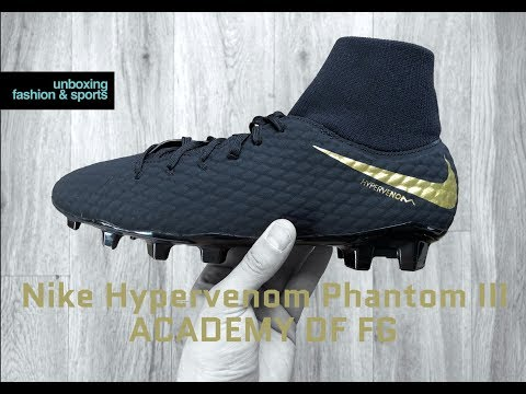 Cámara Emborracharse Detenerse  Nike Hypervenom Phantom III ACADEMY DF FG 'Game of Gold Pack ' | UNBOXING &  ON FEET | football boots - YouTube