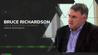 InvestorStream chats with: Anson Resources CEO & Executive Chairman Bruce Richardson (October 16)