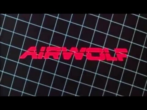 Airwolf helicopter Supercopter long theme