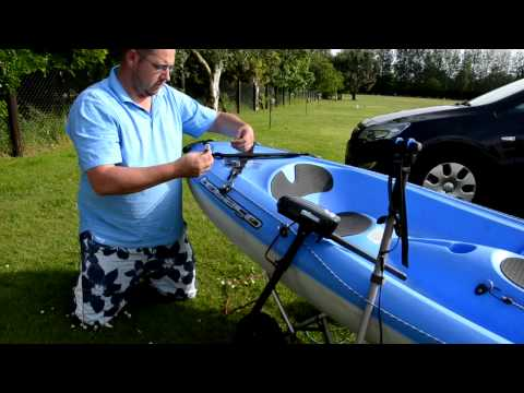 HOW TO FIT AN ELECTRIC OUTBOARD TO A KAYAK, Bic Tobago