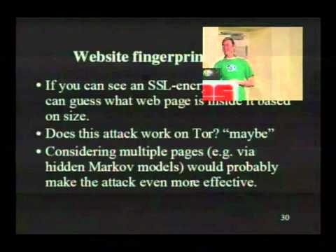 25c3: Security and anonymity vulnerabilities in Tor