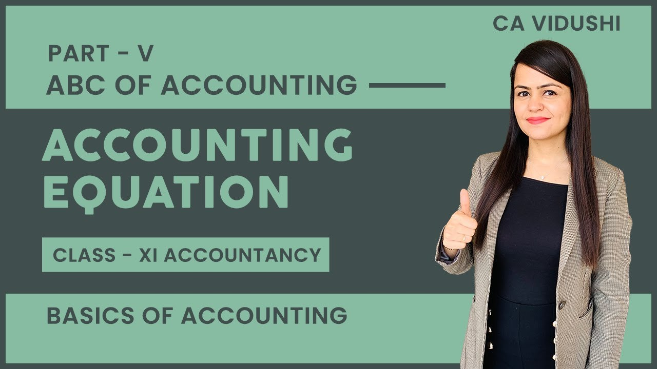 #5 ABC of Accounting | Accounting Equation | Class 11 Accountancy | Basics of Accounting |