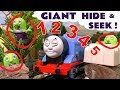 Thomas and Friends Giant Hide and Seek Game with the funny Funlings - Learn numbers TT4U
