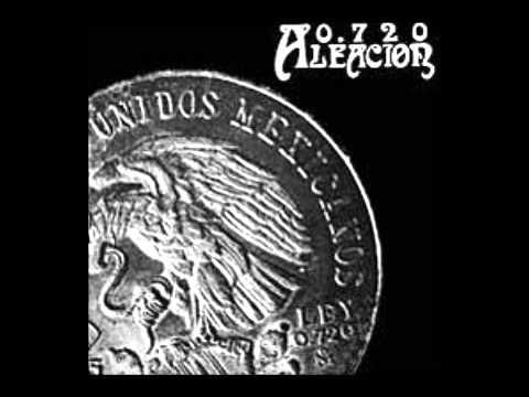 ALEACIÓN 0.720 - Aleación 0.720 (1986: Rock-Folk México)